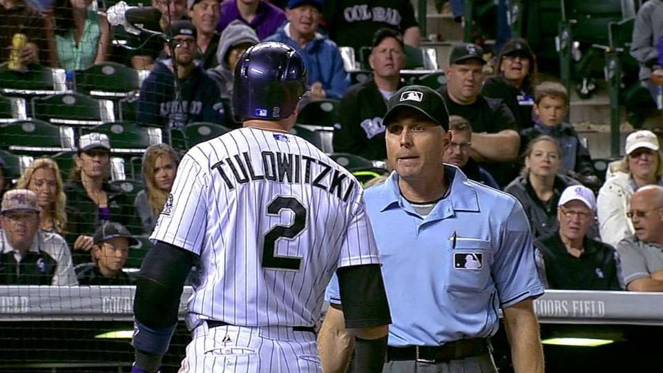 Tulo ejected in the 9th
