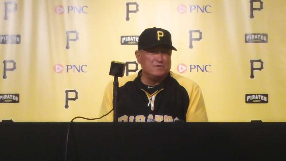 Hurdle on the Pirates' big win