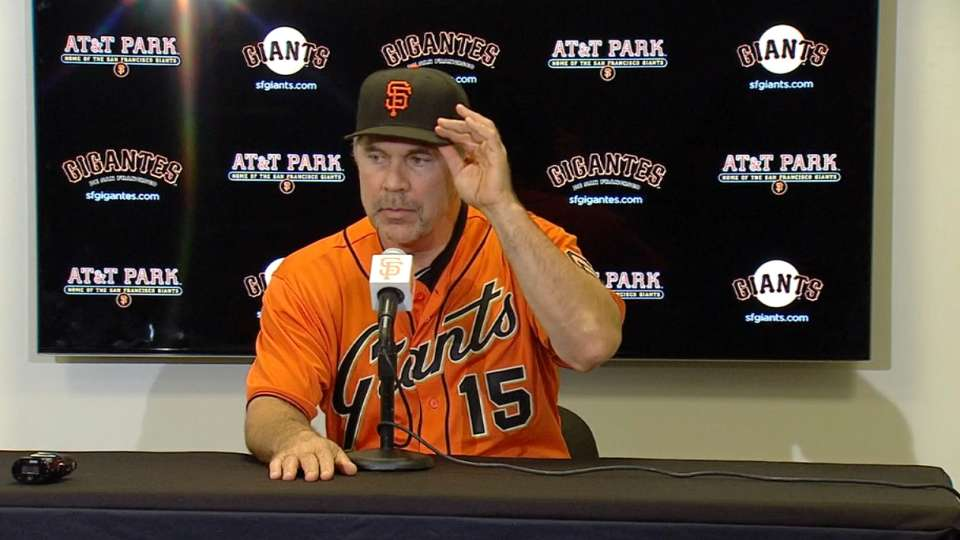 Bochy on 4-2 win vs. the Mets