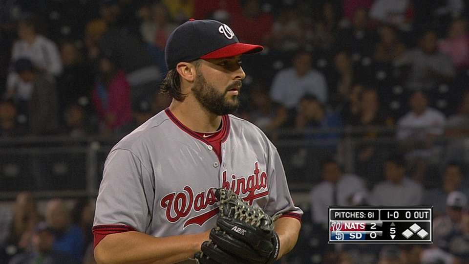 Roark's spectacular outing