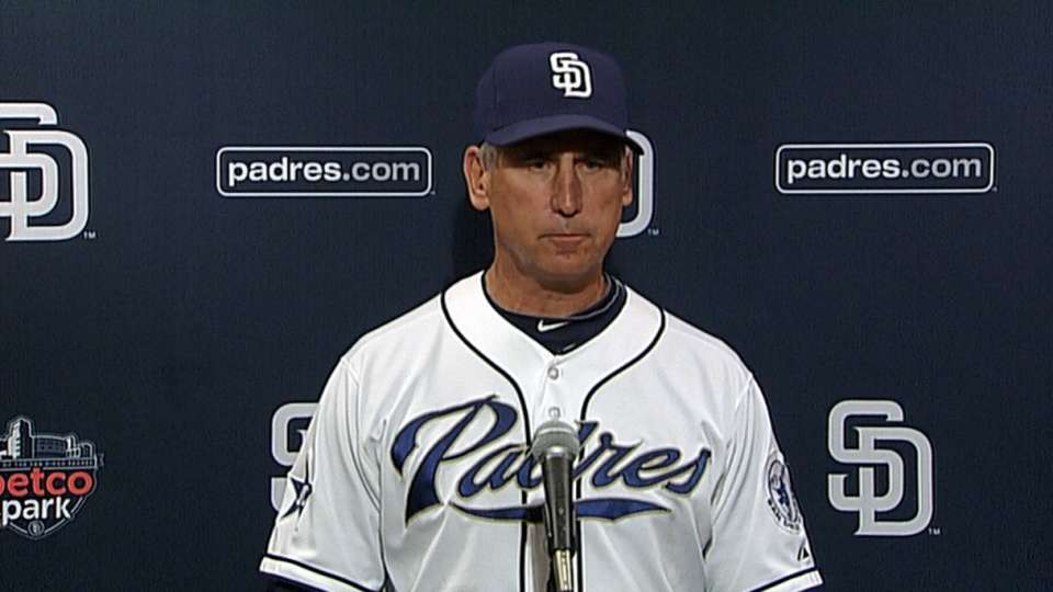 Black on 6-0 loss to Nationals