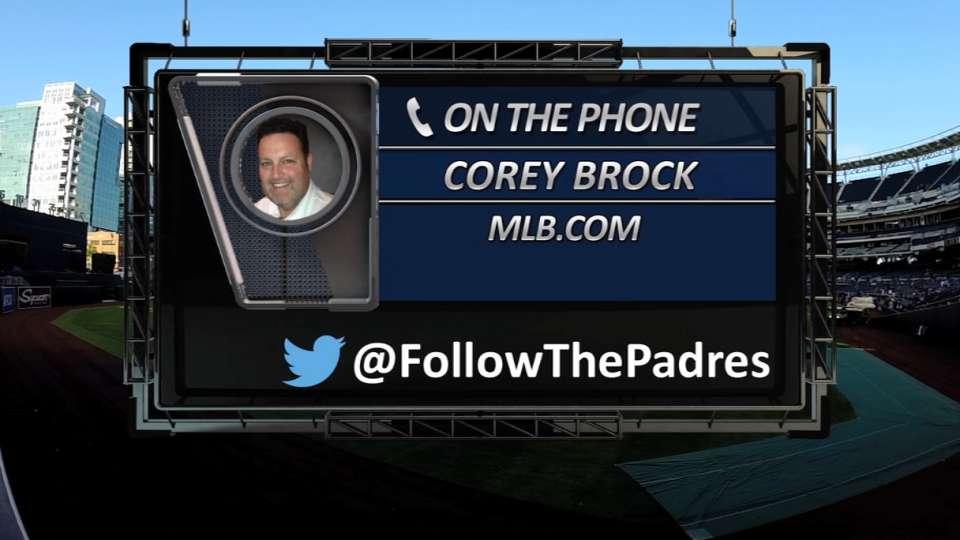 Brock on Padres Social Hour