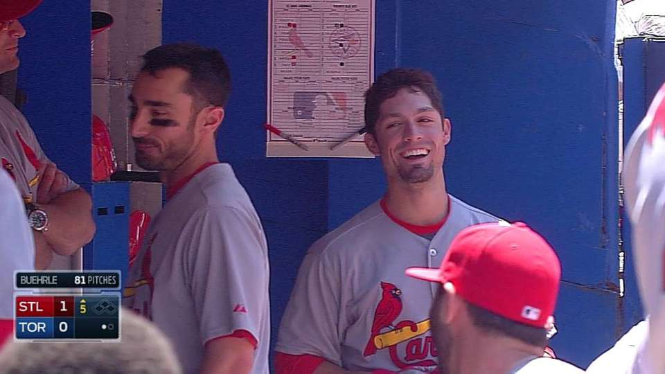 Grichuk's first career home run