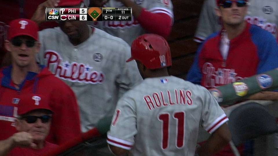 Rollins' two-run homer