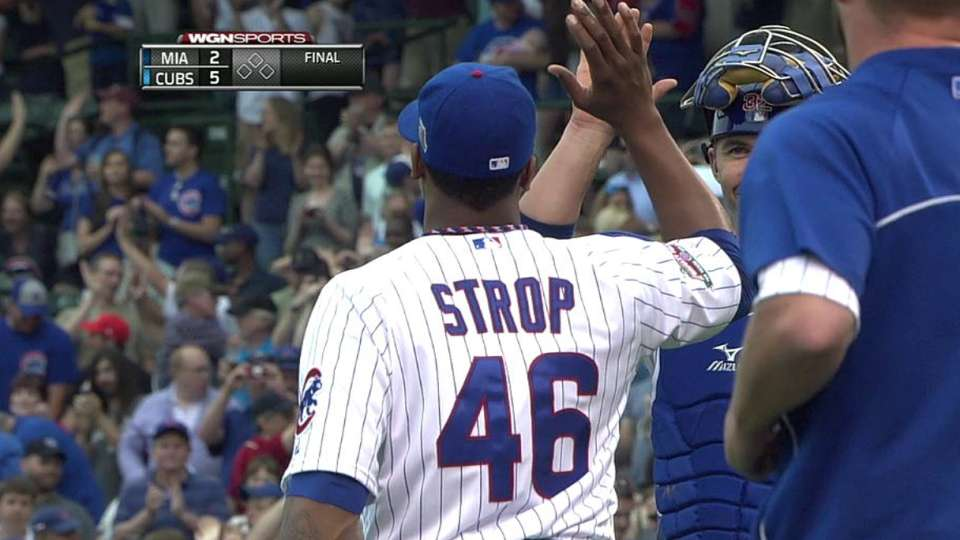Strop notches the save