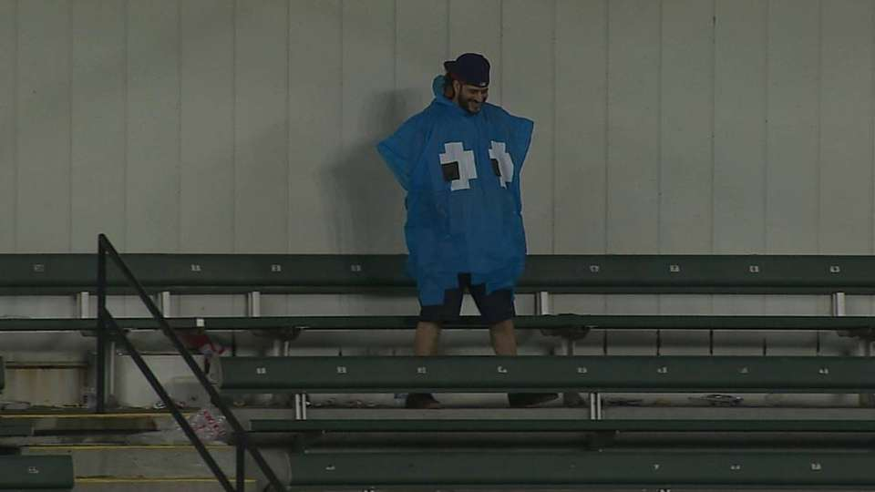Pac-Man ghost in the stands