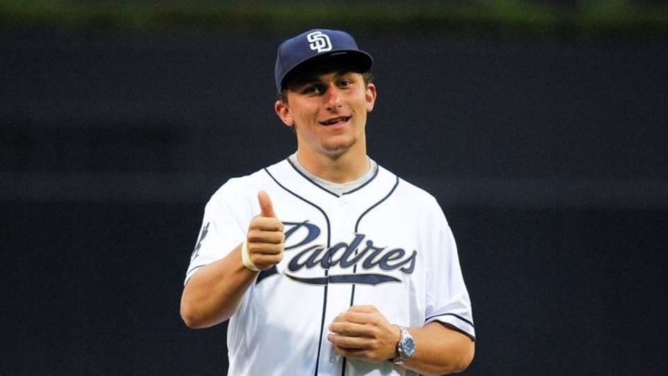 Manziel drafted by Padres