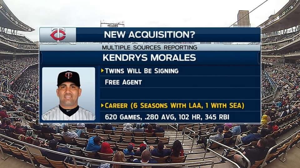 Twins booth on signing Morales