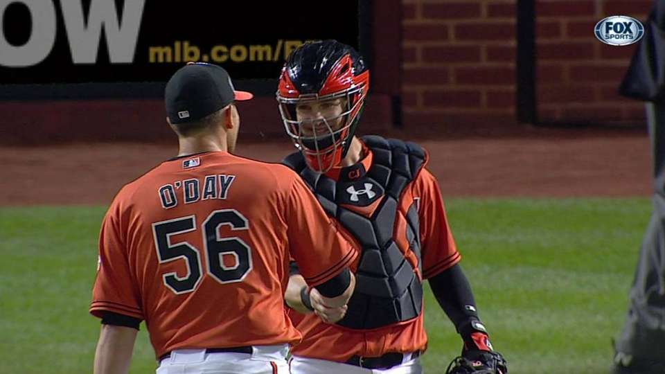 O'Day closes out the win