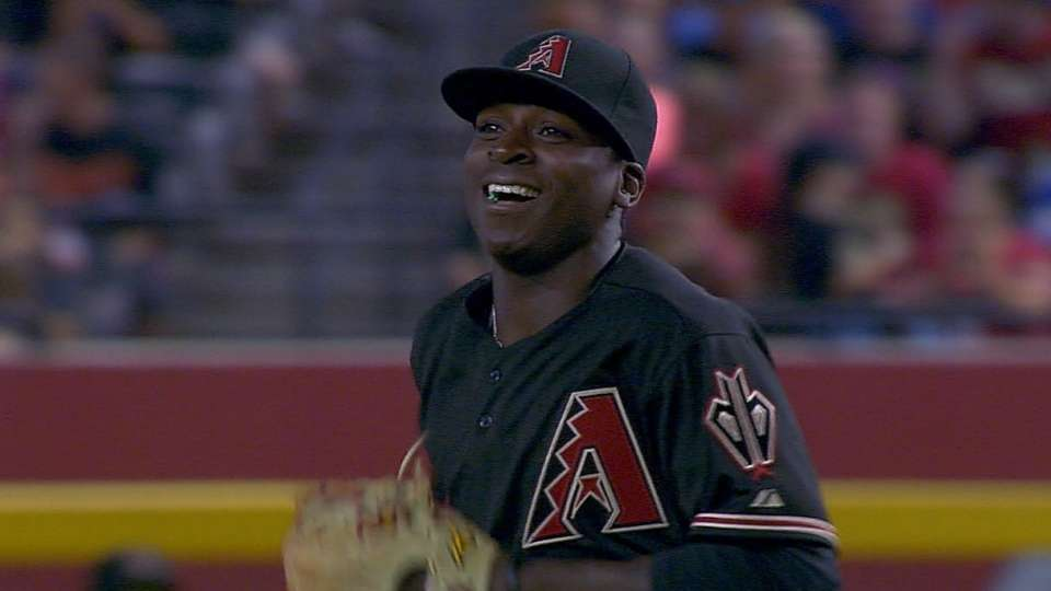 Gregorius' first start at second