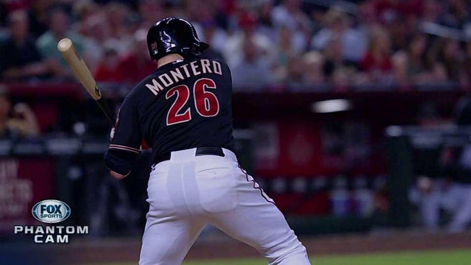 Montero's game-tying solo shot