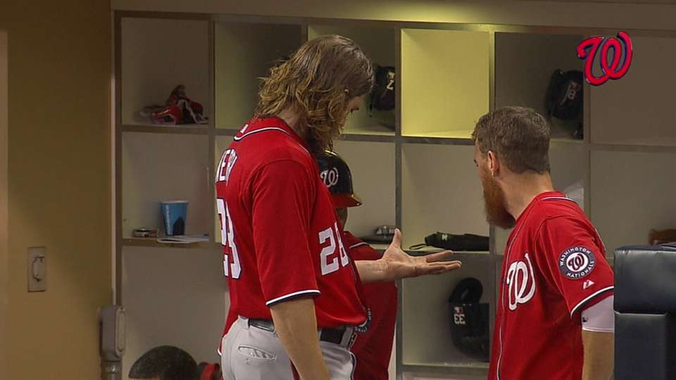 Werth lingers in on-deck circle