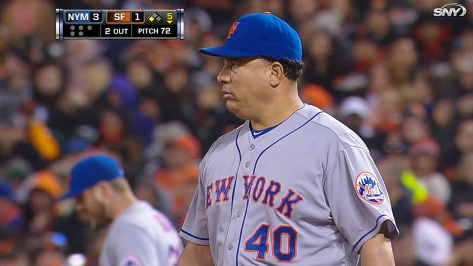 Colon's strong outing