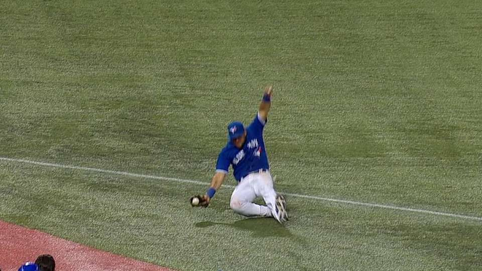 Cabrera's sliding catch