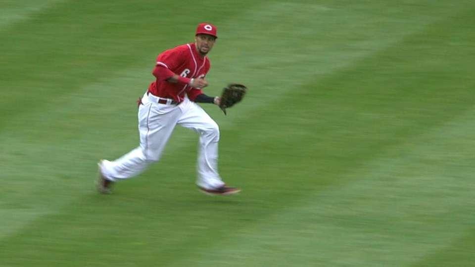 Hamilton's running grab