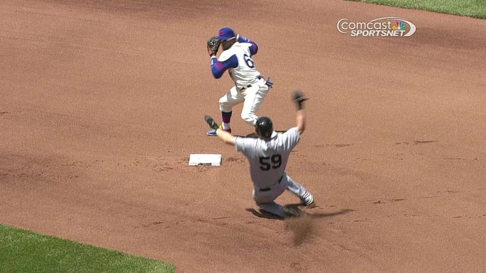 Cubs turn double play