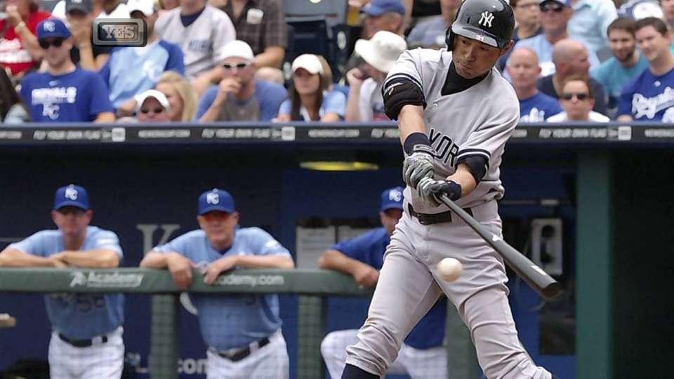 Ichiro's RBI groundout