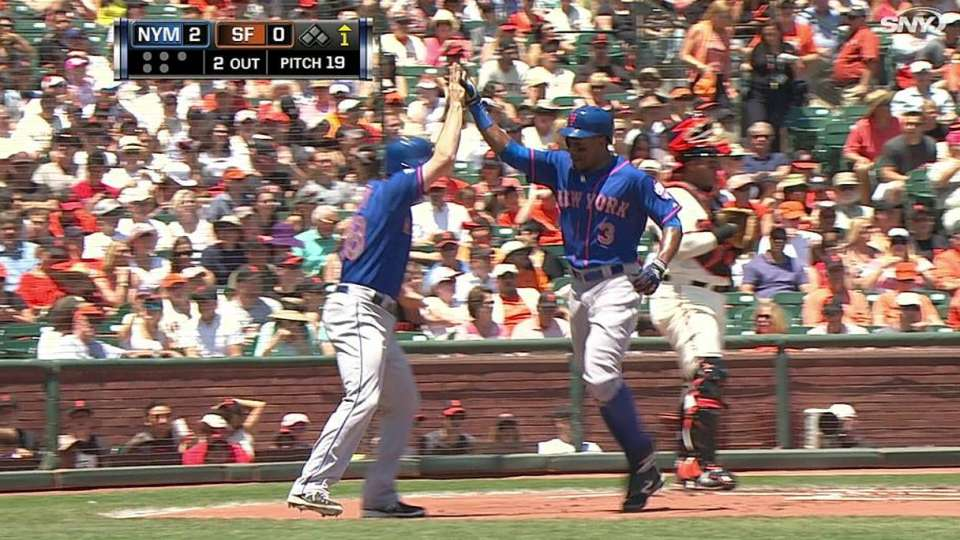 Granderson's two-run homer