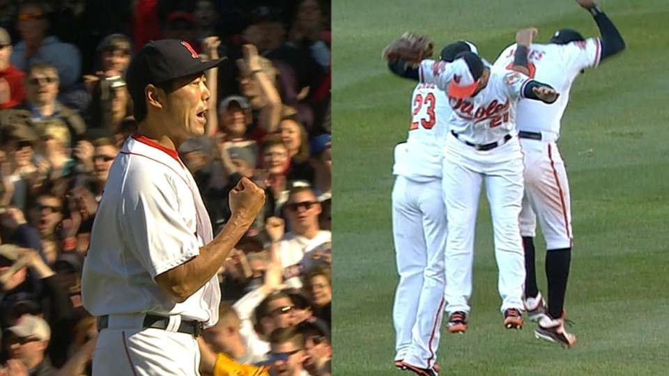 Red Sox and Orioles set to clash