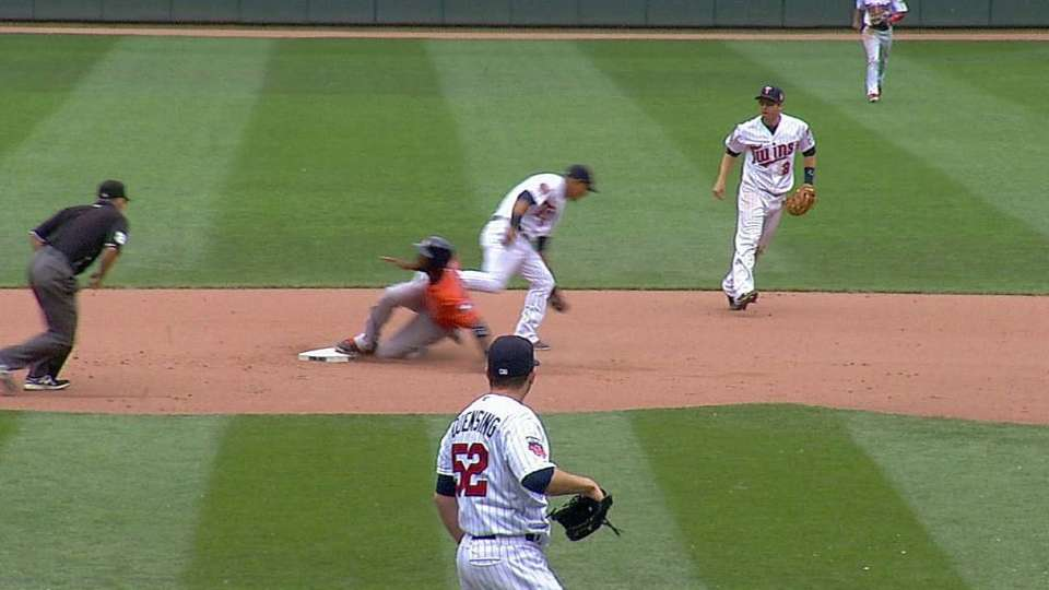 Dozier's diving stop
