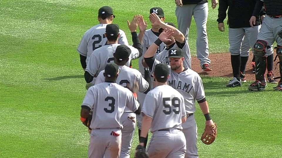 Cishek's game-ending strikeout