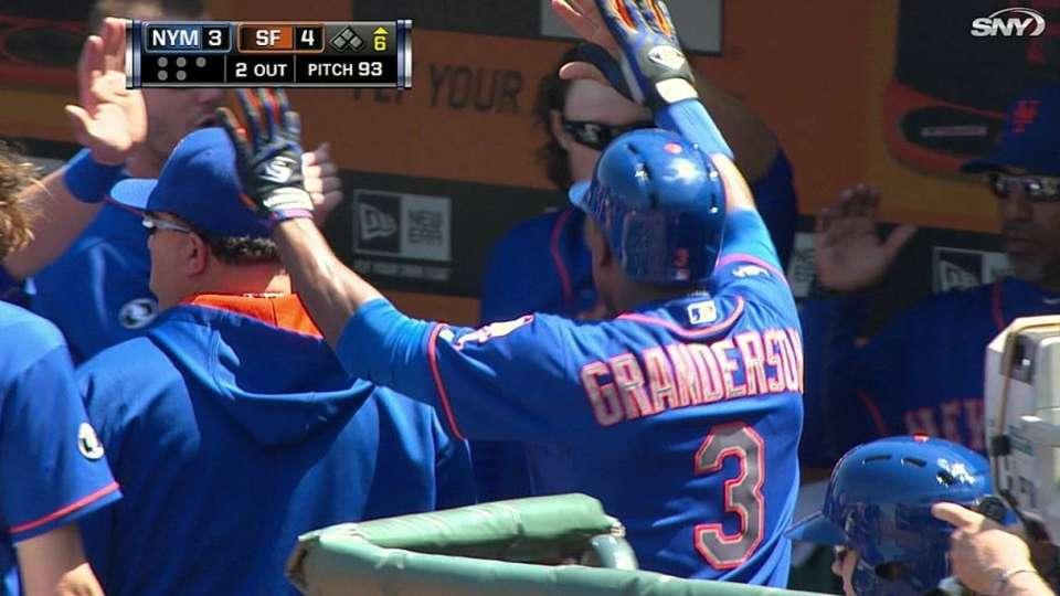 Granderson's second home run