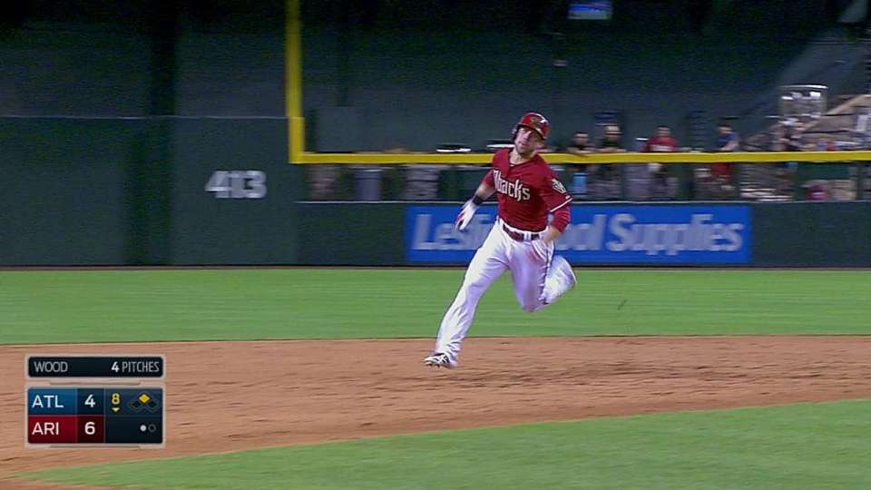 Inciarte races to third