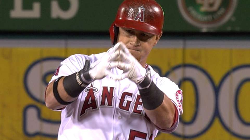 Angels' five-run 4th inning