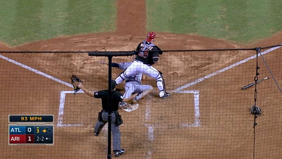 Simmons scores on grounder