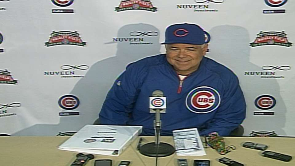 Renteria on loss to Marlins