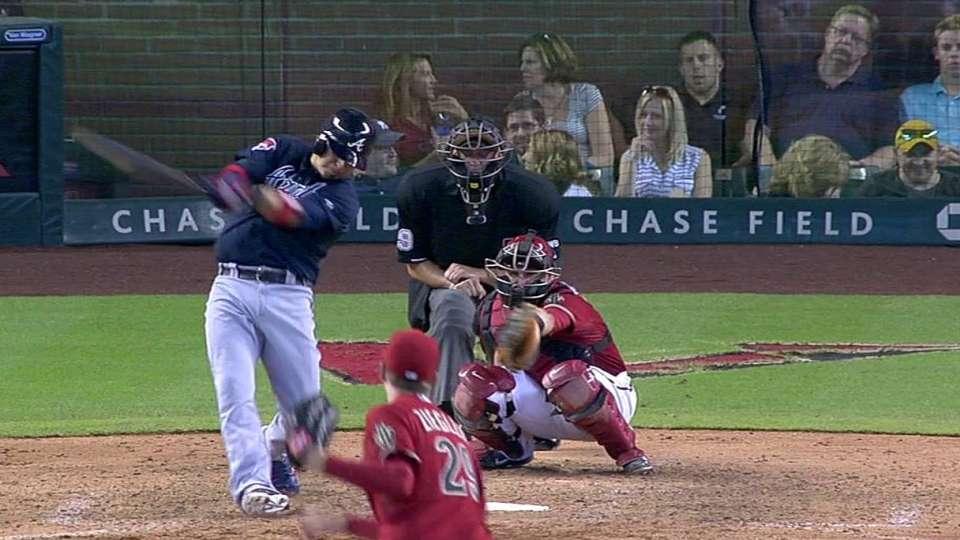 Pena's solo home run
