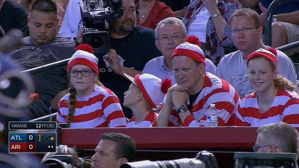 Family dresses up as Waldo