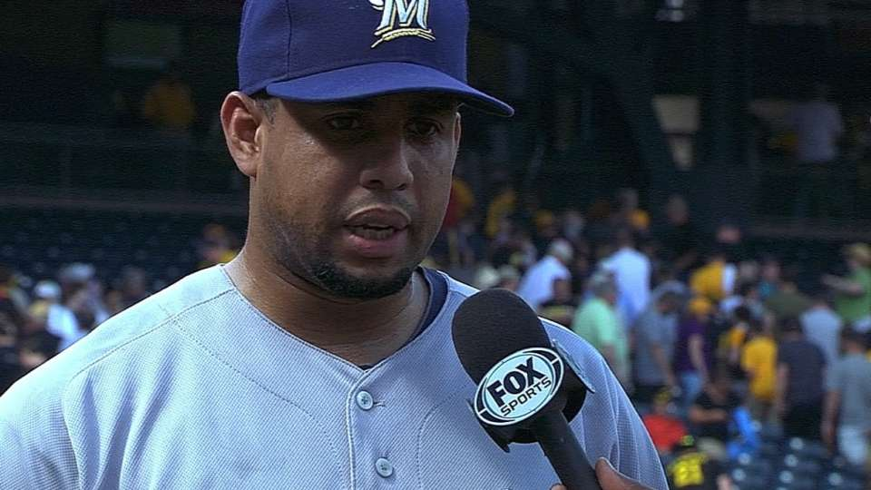 Brewers on 1-0 win