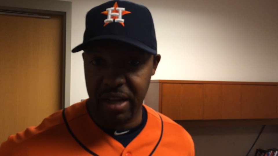 Porter on Astros' offensive show