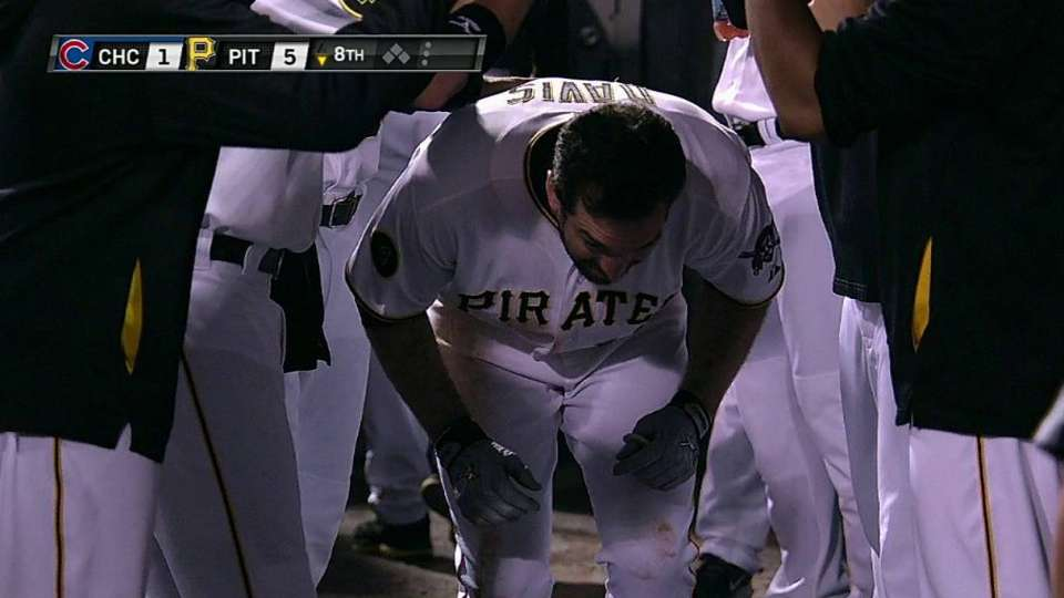 Davis' solo home run