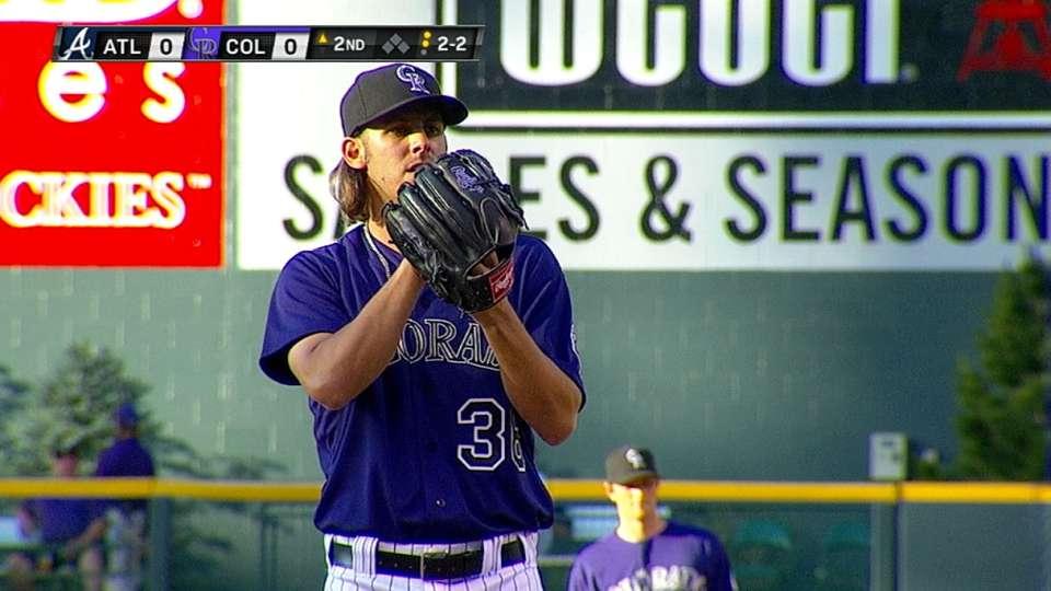 Bergman's Major League debut