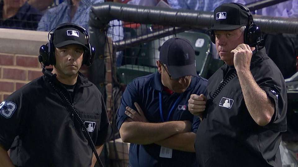 Call overturned at second base