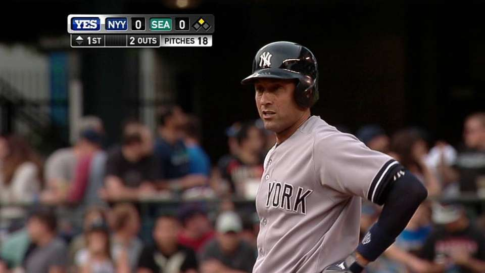 Jeter swipes second