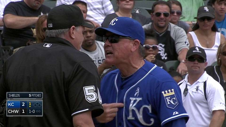 Yost's ejection