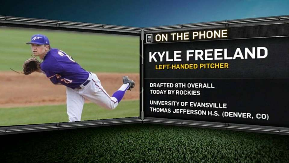 Freeland on being drafted