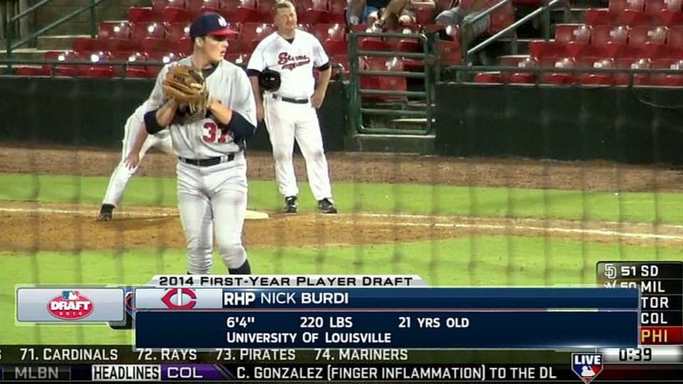 Burdi announced as Twins' pick