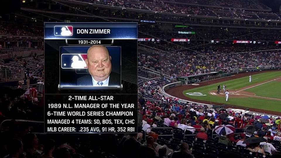 Phils broadcasters on Zimmer