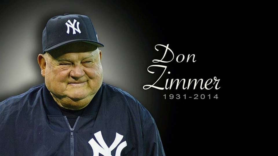 Yankees remember Zimmer