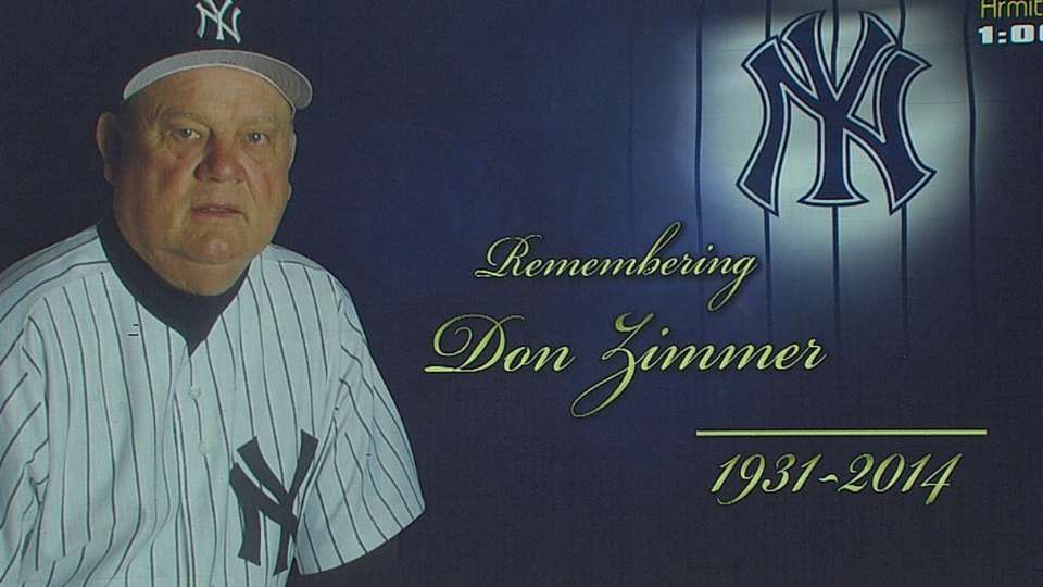 Yanks pay tribute to Don Zimmer