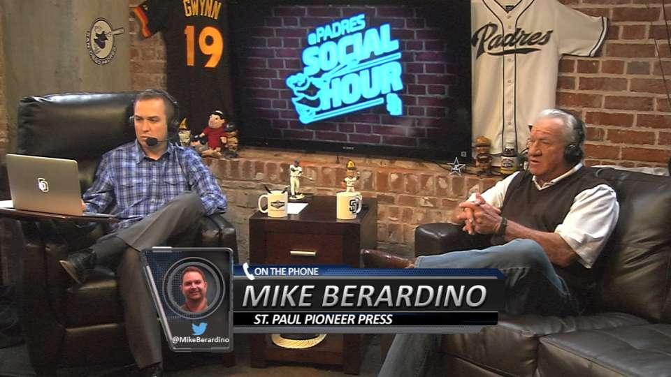 Berardino on Padres Social Hour