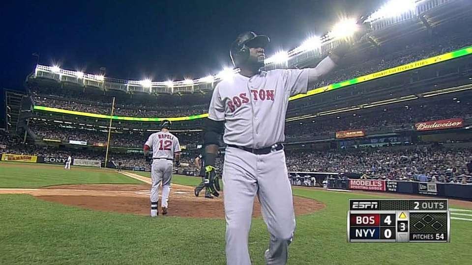 Ortiz's 450th career homer