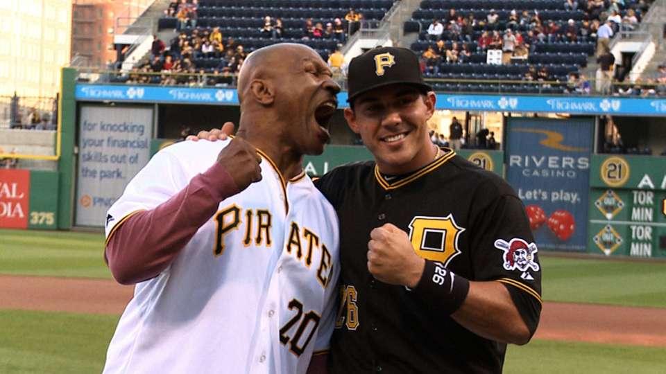 Mike Tyson at PNC Park