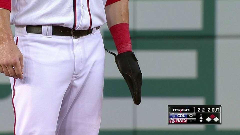 Harper's protective glove