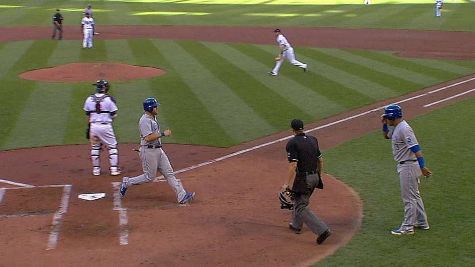Escobar's two-run double