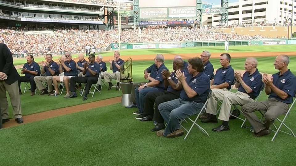Celebration of the 1984 Tigers